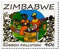 n° 796 - Timbre ZIMBABWE Poste