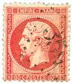 n° 19/24 obl. - Napoleão III (NON LAURÉ)
