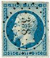 n.° 9/10 obl. - Príncipe-presidente Luis-Napoleón.