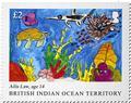 n° 540/543 - Timbre OCEAN INDIEN Poste
