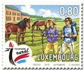 n° 2147/2148 - Timbre LUXEMBOURG Poste