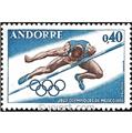 nr. 190 -  Stamp Andorra Mail