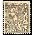 n° 45 -  Timbre Monaco Poste
