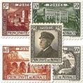 n° 54/64 -  Selo Mónaco Correios