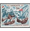 n.o 870 -  Sello Mónaco Correos
