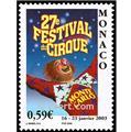 n° 2382 -  Selo Mónaco Correios