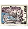 n° 34/37 -  Selo Mónaco Pré-obliterados