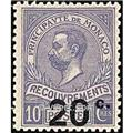 nr. 11 -  Stamp Monaco Revenue stamp