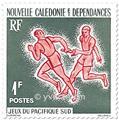 n.o 308/311 -  Sello Nueva Caledonia Correos
