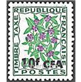 n° 54 -  Timbre Réunion Taxe