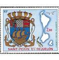 n.o 58 -  Sello San Pedro y Miquelón Correo aéreo