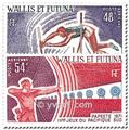 n° 39/40 -  Timbre Wallis et Futuna Poste aérienne