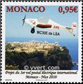 n° 2750 -  Selo Mónaco Correios