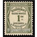nr. 43 -  Stamp France Revenue stamp