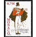 n.o 2409 -  Sello Mónaco Correos
