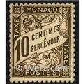 nr. 4 -  Stamp Monaco Revenue stamp