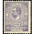 nr. 9 -  Stamp Monaco Revenue stamp