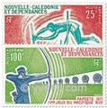 nr. 122/123 -  Stamp New Caledonia Air Mail