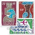 nr. 77/79 -  Stamp Polynesia Mail