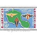 n° 8 -  Timbre Polynésie Poste aérienne
