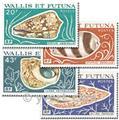 n.o 192/195 -  Sello Wallis y Futuna Correos