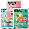 n.o 282/284 -  Sello Wallis y Futuna Correos