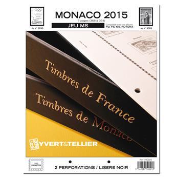 MONACO MS : 2015 (jeux sans pochettes)