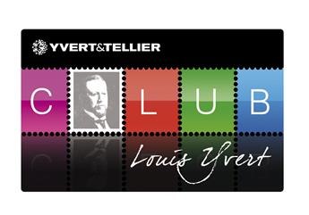 Carte Club Louis Yvert