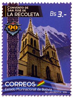 n° 1570 - Timbre BOLIVIE Poste