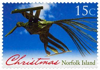 n° 1175 - Timbre NORFOLK Poste