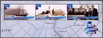 n° 10 - Timbre ROSS Blocs et feuillets