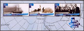 n° 9/10 - Timbre ROSS Blocs et feuillets