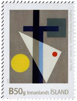 n° 1403 - Timbre ISLANDE Poste