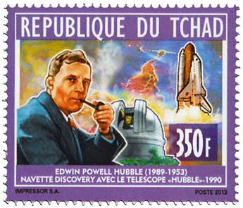n° 1704 - Timbre TCHAD Poste