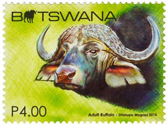 n° 1141 - Timbre BOTSWANA Poste