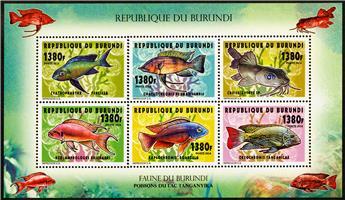 n° 2277 - Timbre BURUNDI Poste