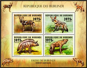 n° 2301 - Timbre BURUNDI Poste