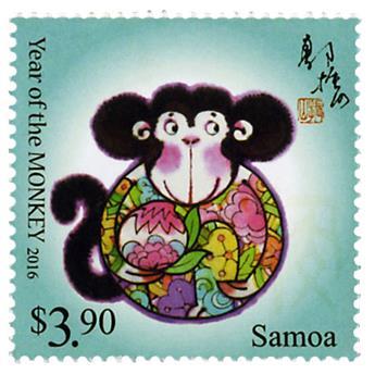 n° 1178 - Timbre SAMOA Poste
