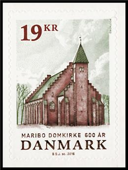 n° 1820 - Timbre DANEMARK Poste