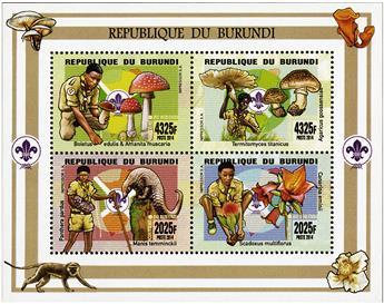 n° 2313 - Timbre BURUNDI Poste