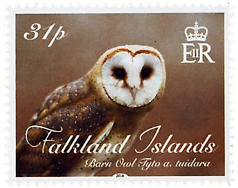 n° 1223 - Timbre FALKLAND Poste