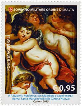 n° 1288 - Timbre ORDRE de MALTE Poste