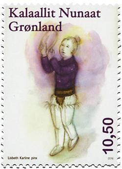 n° 690 - Timbre GROENLAND Poste