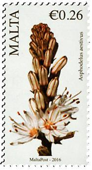 n° 1840 - Timbre MALTE Poste