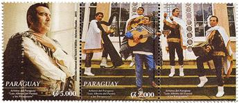 n° 3200 - Timbre PARAGUAY Poste