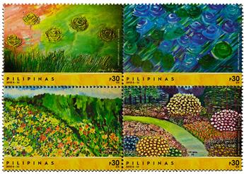 n° 3974 - Timbre PHILIPPINES Poste