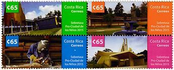 n° 976 - Timbre COSTA RICA Poste
