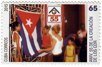 n° 5435 - Timbre CUBA Poste