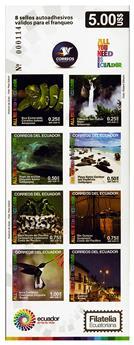 n° C2690 - Timbre EQUATEUR Carnets