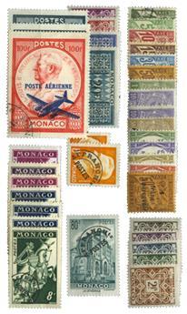 Monaco : PA, Préo, Taxe */obl.